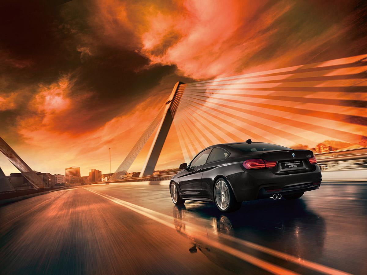 BMW「4シリーズ クーペ / グラン クーペ」の特別仕様車「BMW 420i M Spirit」発売