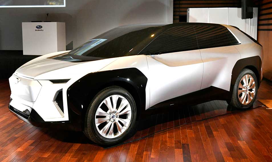 【EV!! アイサイト進化!! 水平対向エンジン!!!】スバルが技術ミーティングで見せた「未来の姿」とは!?
