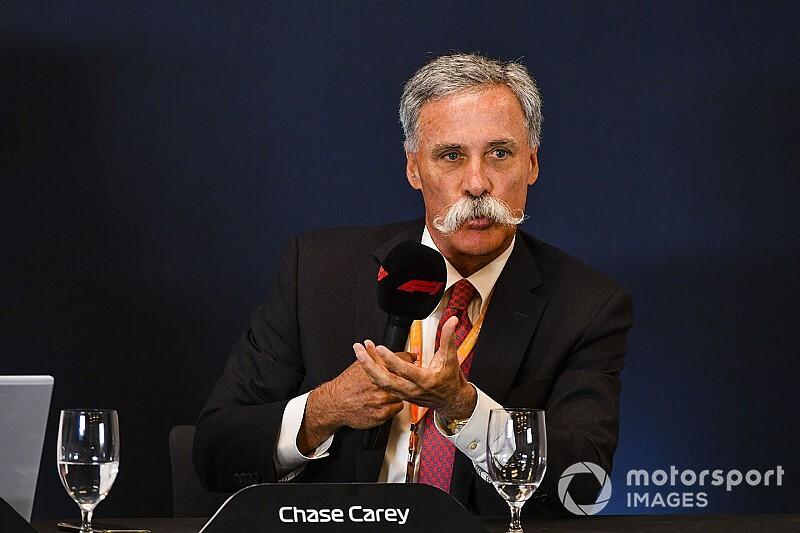 開幕の目処が立たない2020年のF1……CEOのチェイス・キャリーは「15~18戦」になると予想