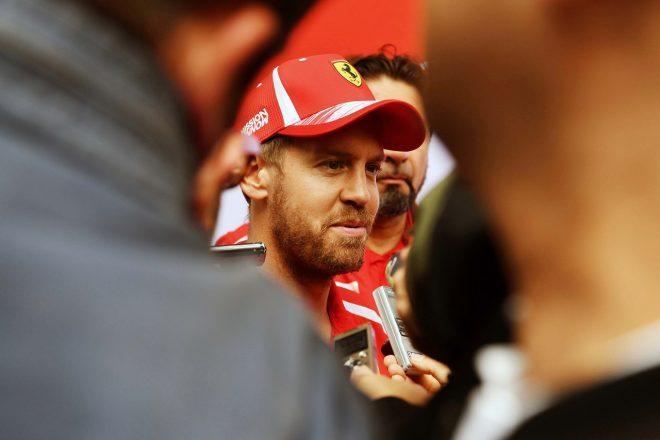 ベッテル「どこかからネジが外れた以外は順調な一日。ただマシンはまだ完璧ではない」:F1ブラジルGP金曜