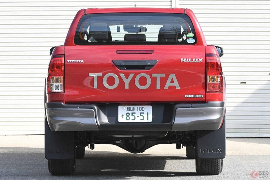 なぜトヨタだけ販売? 国内でハイラックスしかピックアップが存在しないワケ