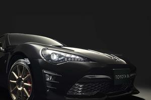 """トヨタがコンセプトカーを市販化! 86の特別仕様車「GT""""BLACK LIMITED""""」を86台限定で発売"""