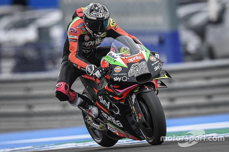"""【MotoGP】アレイシ・エスパルガロ、ドゥカティ&ドヴィを""""お手本""""にアプリリアの躍進狙う"""