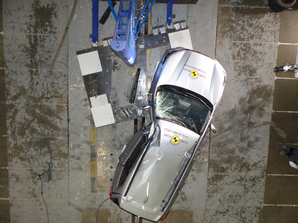 スバルの新型フォレスターがユーロNCAPの衝突安全性試験で最高評価の5つ星を獲得!