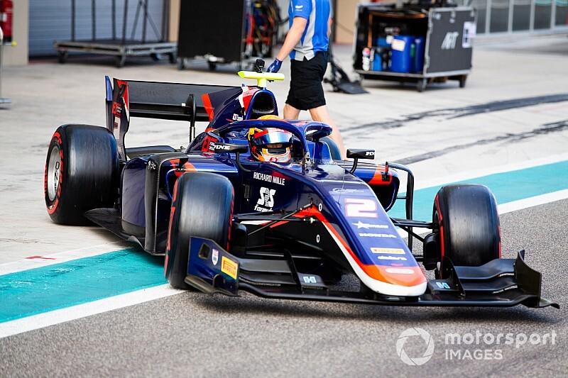 FIA F2アブダビテスト最終日:マゼピンがトップタイム。角田裕毅は7番手