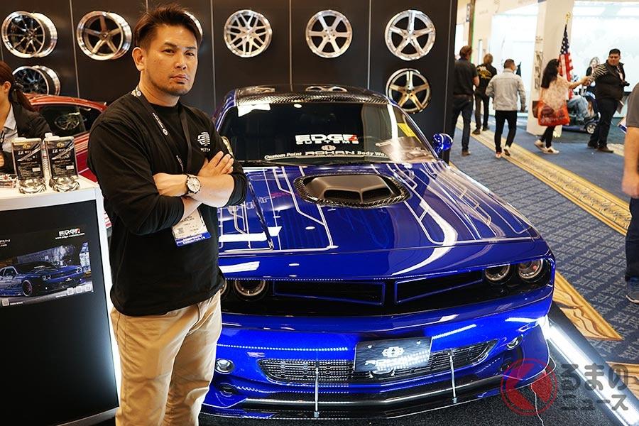 日本人が手掛けたメタルなアメ車が米国で大人気! カスタム本場も驚く緻密な職人技に話題沸騰