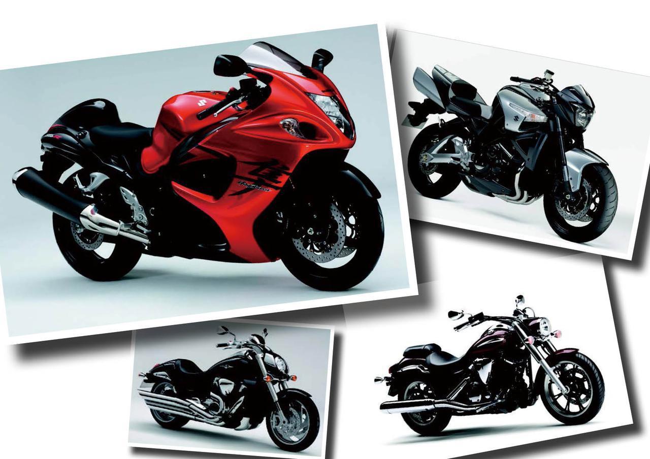 8年ぶりにフルモデルチェンジした「ハヤブサ1300」や個性派直4ネイキッド「B-KING」が登場!【日本バイク100年史 Vol.100】(2008年)<Webアルバム>