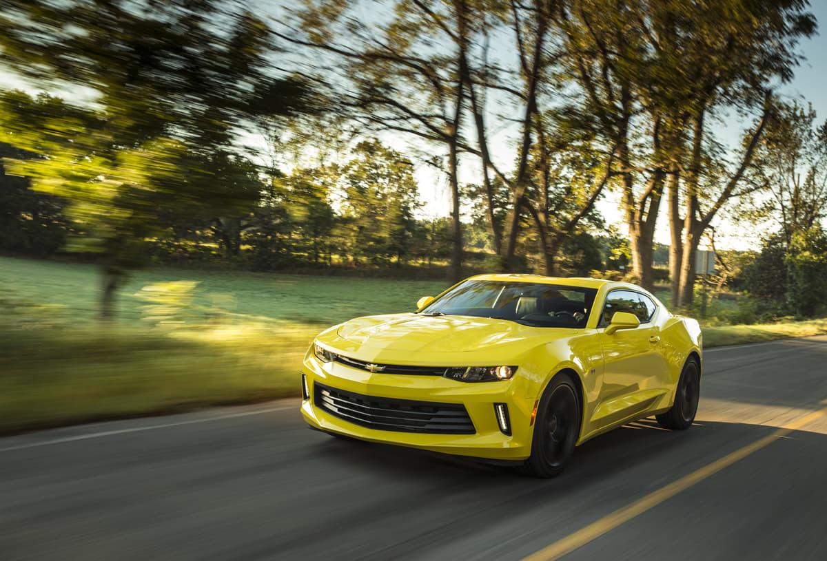 シボレー・カマロが4気筒モデルを追加!V8のアメ車イメージからの変革か
