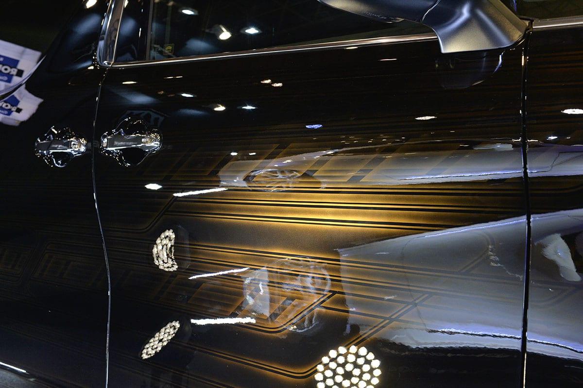 今年のKUHL(クール)もやっぱり凄い!! 毎年湧かせる人気ブランドが新作エアロ&ホイールと超絶塗装の極上デモカーを展示