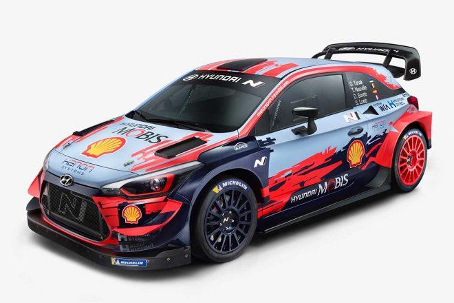 WRC:ヒュンダイ、2020年型i20クーペWRCを公開「全戦で優勝を争い、タイトル獲得を目指す」