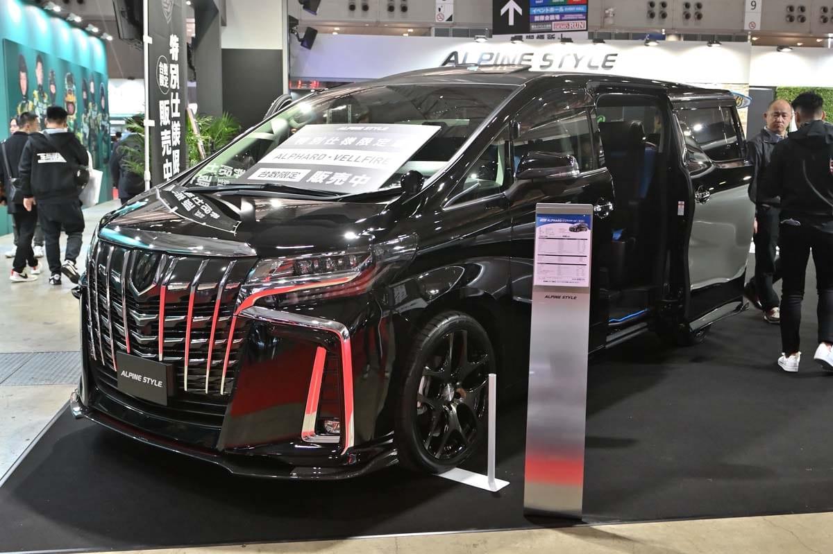 アルパインスタイルが誇る会心のコンセプトカーと特別仕様限定車を見るなら、会場に行くっきゃない!!【東京オートサロン2020】