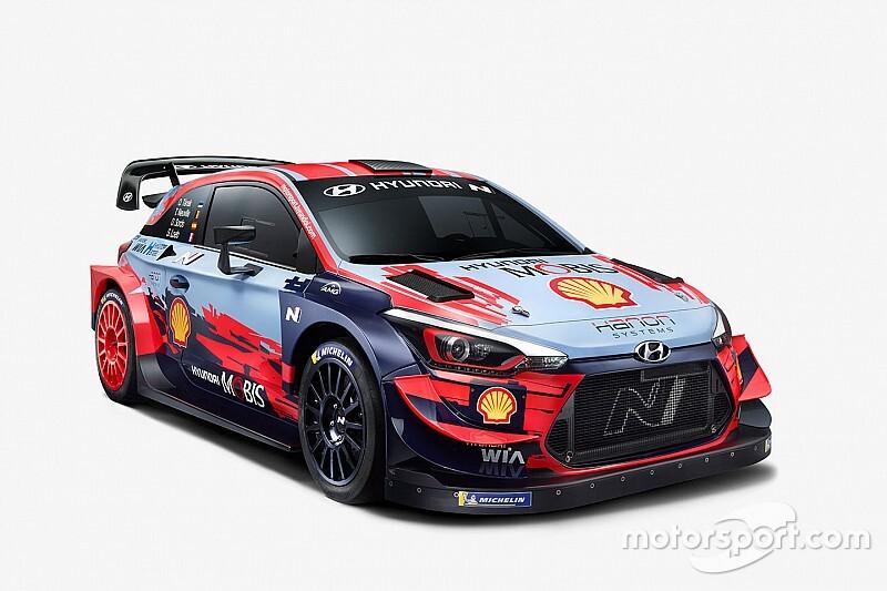 """【WRC】""""最強ラインアップ""""で初のダブルタイトルへ! ヒュンダイが2020年型i20クーペ WRC公開"""