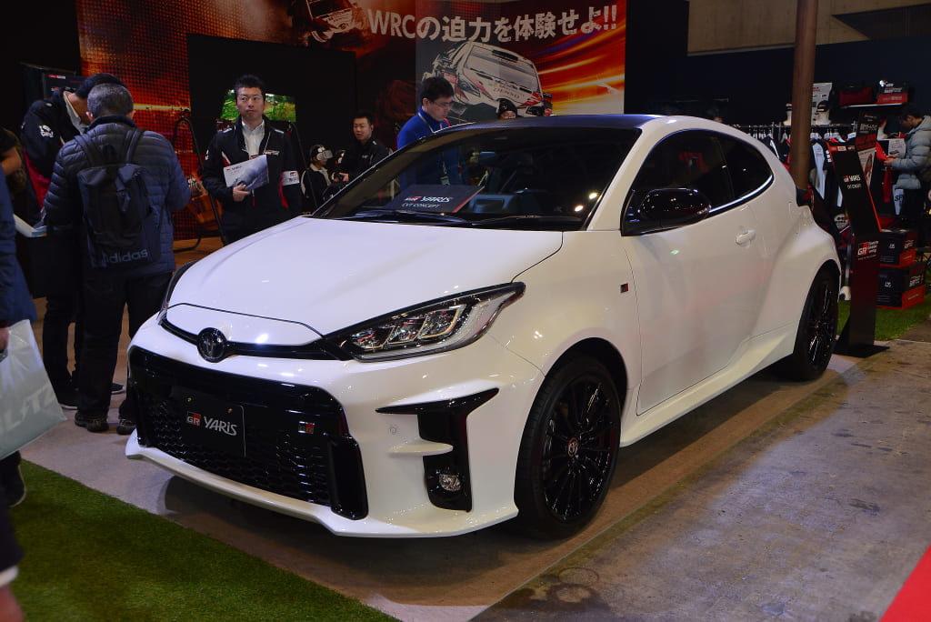 セリカ GT-FOURの再来! WRC制覇を狙う「GR ヤリス」誕生【東京オートサロン2020】
