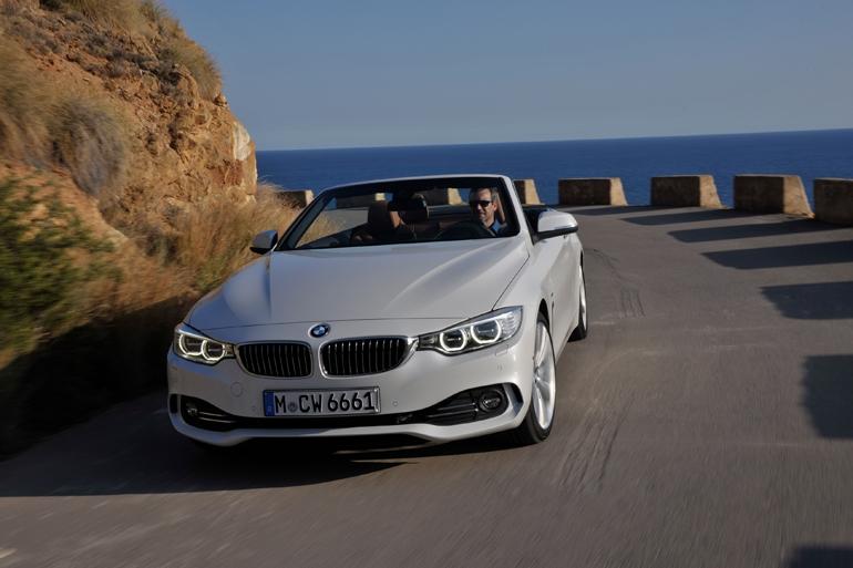 BMW、4シリーズカブリオレの映像を公開
