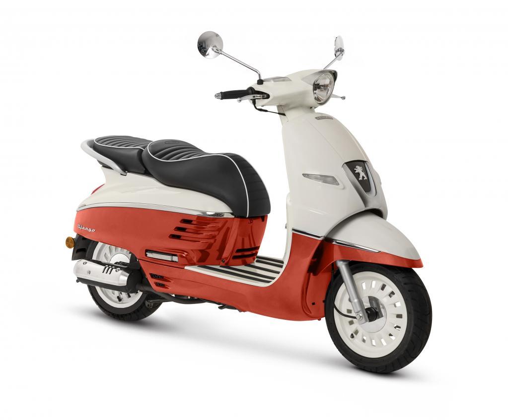 可愛い系スクーター、プジョー・ジャンゴに気軽に乗れる50ccモデルと高速道路走行OKの150ccモデルが新登場!