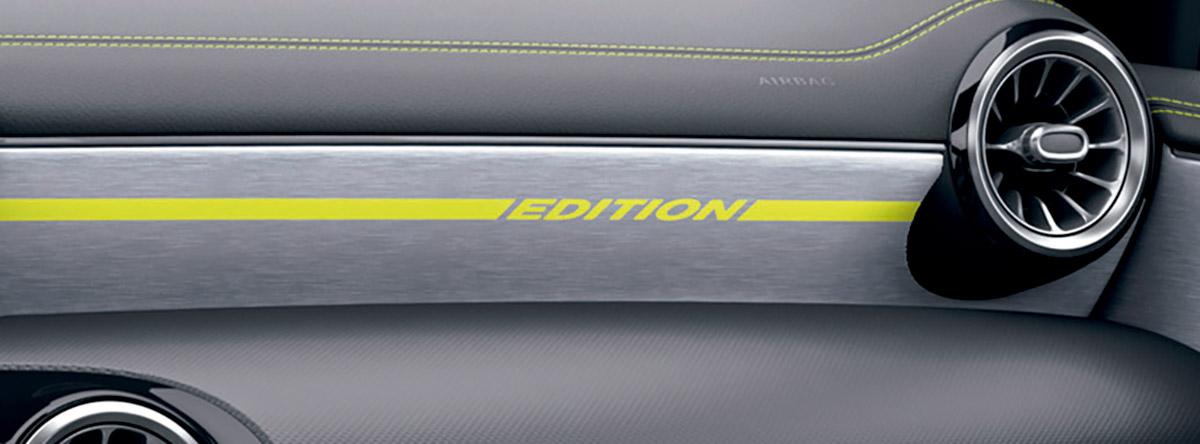 メルセデス・ベンツ、イエローグリーンのアクセント採用の特別仕様車「A180 Edition1」限定発売