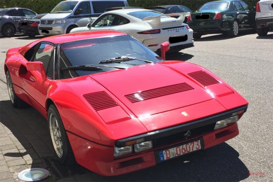 約2.9億円 稀少フェラーリ288GTO、盗まれる ドイツで盗難 その手口は