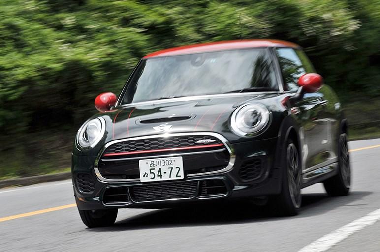 MINI ジョン・クーパー・ワークス、箱根でみせた最強モデルの走り