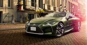 レクサス「LC」「IS」に日本の美を詰め込んだ特別仕様車「PATINA Elegance」「I Blue」が登場