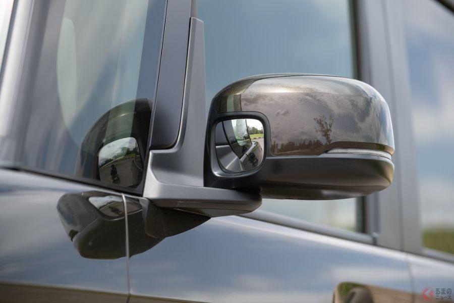 カッコ悪かった「きのこミラー」なぜ減った? SUV・ミニバンの突起ミラーが消えた理由