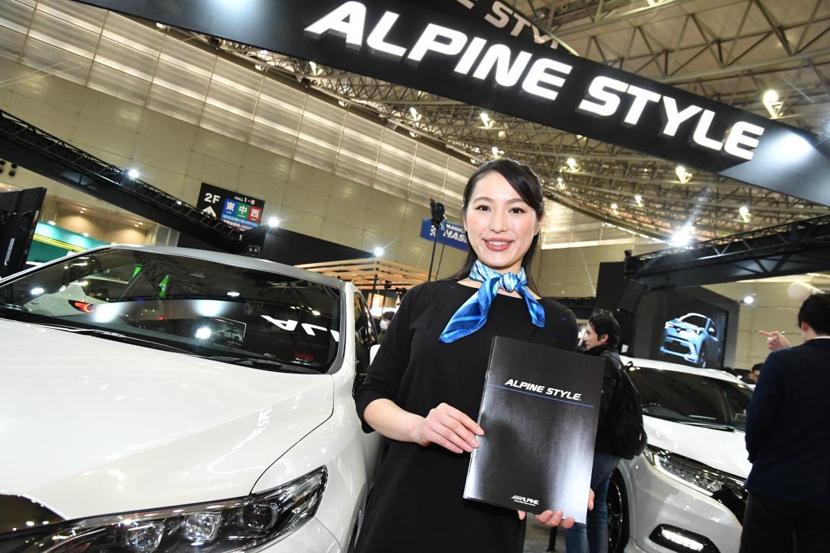 アルパインが手掛ける個性あふれる11台のカスタマイズカー! 【東京オートサロン2019】
