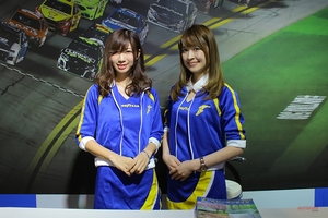 「イーグルF1アシメトリック3 SUV」 オートサロンで発表 日本グッドイヤー・ブース