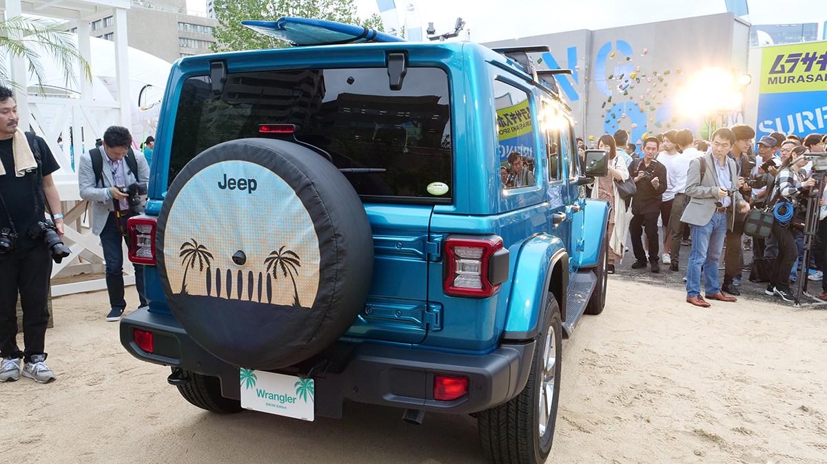 ジープ2モデルに海が似合う限定車「ビキニエディション」登場