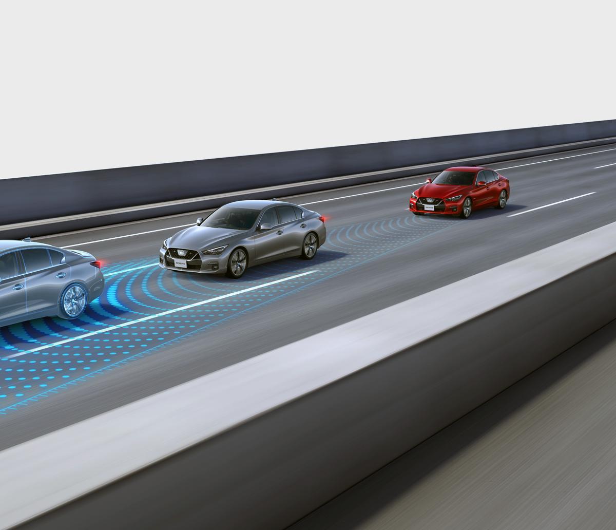 ハンズオフ運転が可能な「プロパイロット2.0」搭載車がついに登場! 大幅進化を遂げた新型スカイラインの衝撃