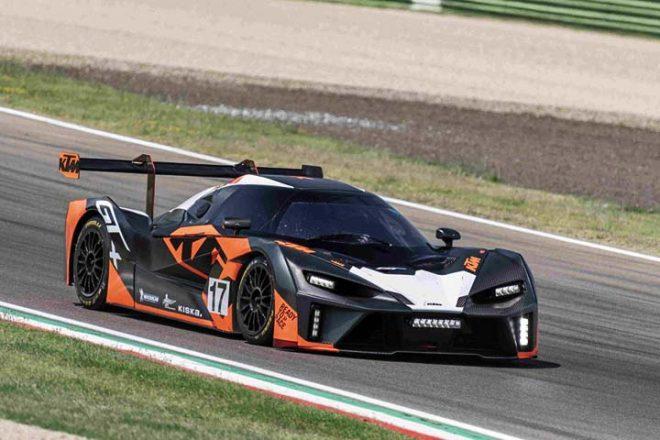 ライター製KTM GT2カー誕生の可能性も。コンセプトGTが開発中