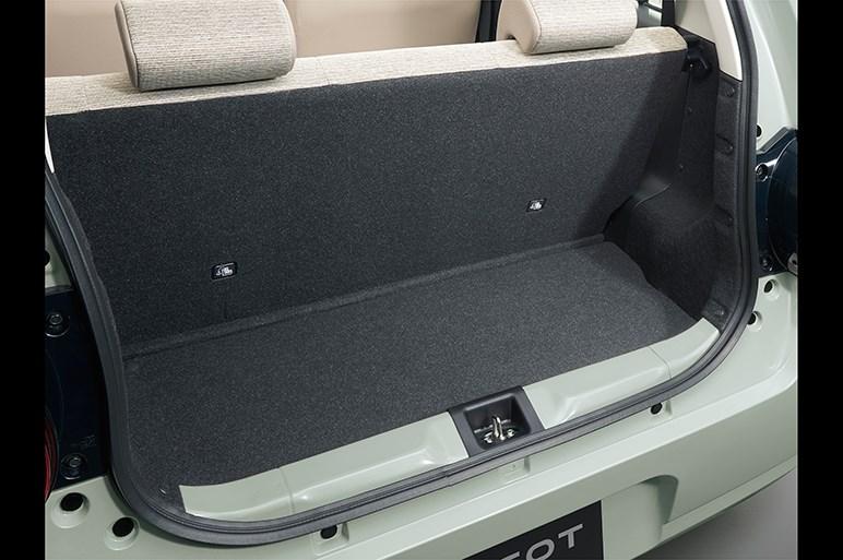 ダイハツ、新型軽のミラ トコットは無印的なシンプルデザインで登場