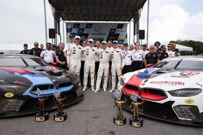 IMSA:2018年デビューのBMW M8 GTEが初優勝。GTDではレクサスRC Fが2勝目