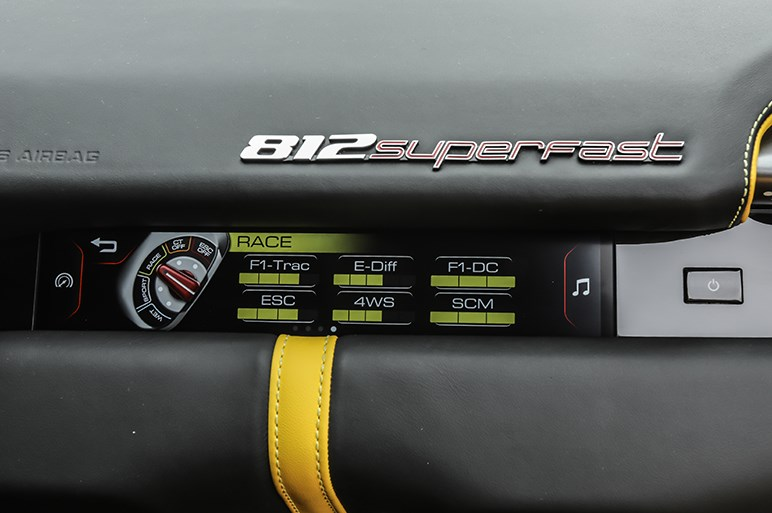 812スーパーファストは、最新技術の粋を集めた極上のサラブレッドだった