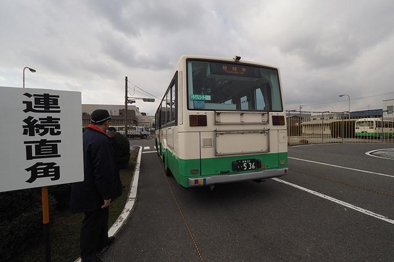 バスマニアの星・奈良交通の安全運転研修会にはバス運転手のトップガンが集まっていた