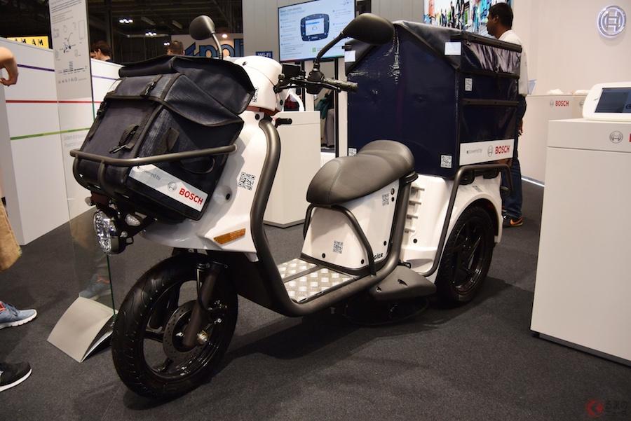 ボッシュ、電動スクーターに関連する様々な技術を提案【EICMA2018】