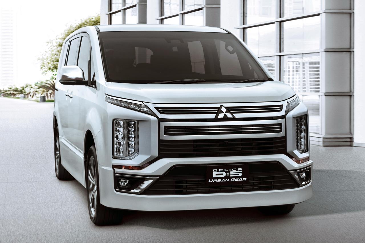 【ニュース】三菱、新型デリカD:5を東京オートサロン2019に参考出品。予約受注も開始!