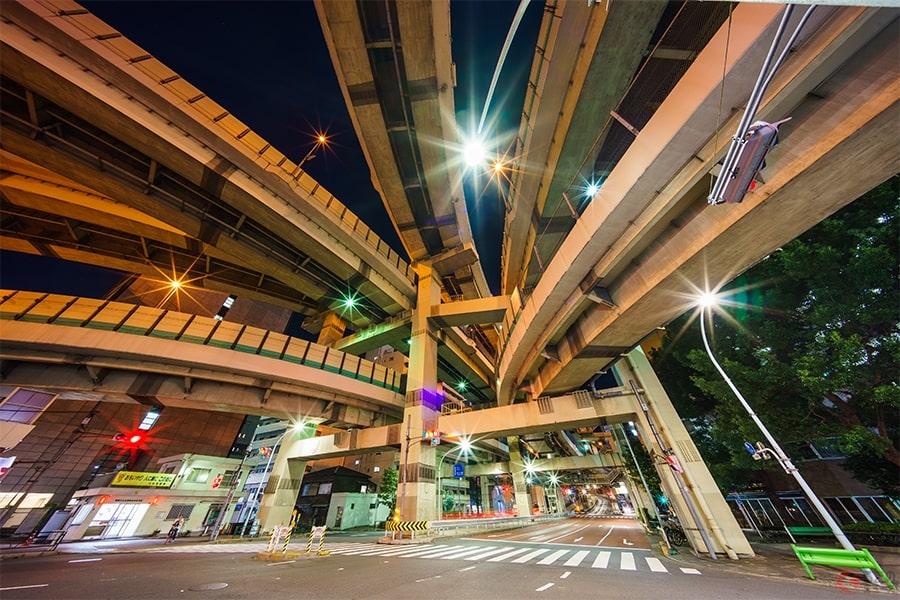 首都高は「C」、名古屋高速は「R」、阪神高速は「L」 環状線の呼び名が違うのはなぜ?