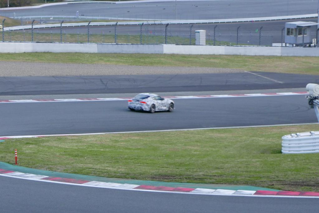 11月20日、富士スピードウェイでトヨタ新型スープラ(A90型)が! どうやらCM撮影のようだ