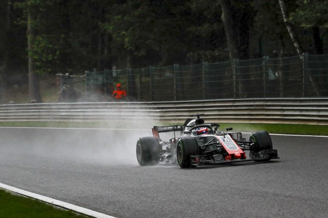 グロージャン5番手「フェラーリやレッドブルに勝つなんて、すごい予選だった」:ハース F1ベルギーGP土曜