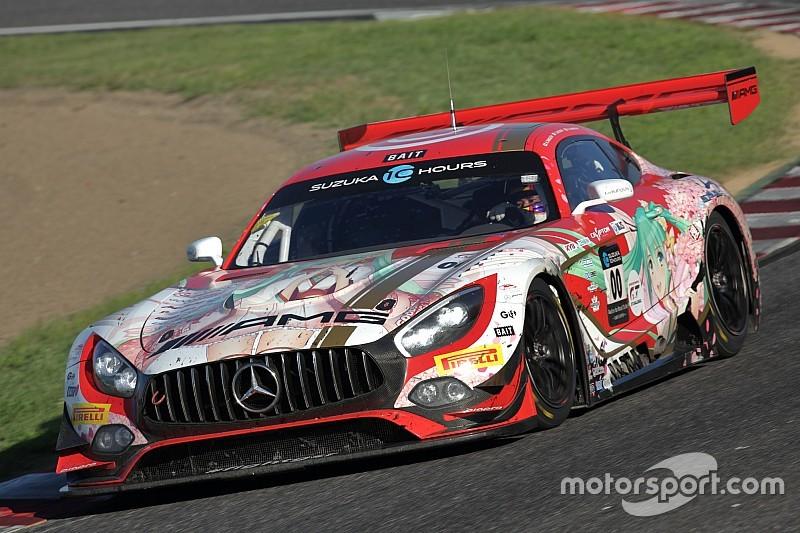 スタート7時間30分経過:日本勢が苦戦する中、00号車Mercedes-AMG Team GOOD SMILEが5番手に浮上! 鈴鹿10H