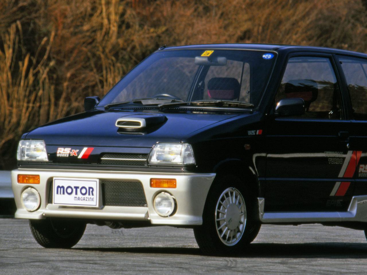【昭和の名車 101】スズキ アルトワークスRS-X:昭和62年(1987年)