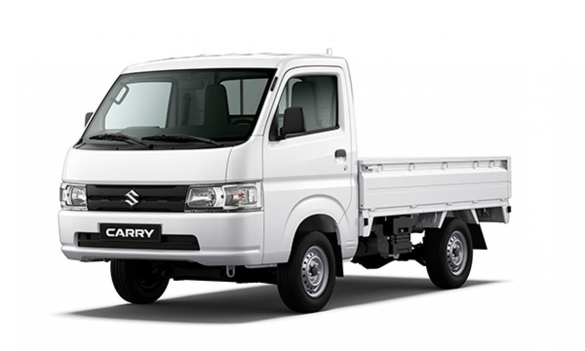 スズキの新型キャリイは、1.5ℓK15B-Cエンジン搭載。インドネシアの小型トラック市場の5割を握る