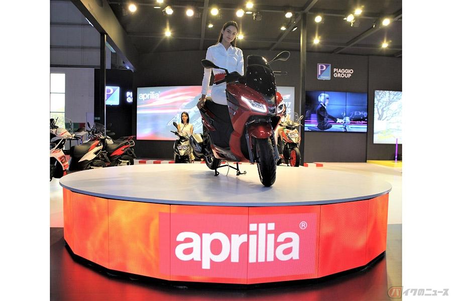 アプリリア「SXR160」発表 高い評価を受けたプレミアム・スクーターの内容とは?