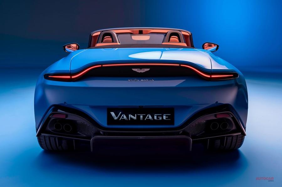 【ルーフ開閉、最速の7秒未満】新型アストン マーティン・ヴァンテージ・ロードスター 第2四半期 納車開始 英国