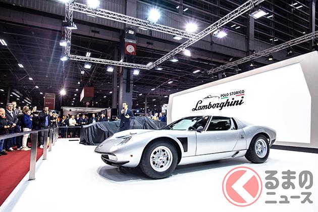 新車でランボルギーニ「ミウラ」が買える!? イオタの幻影ミウラSVJの1号車が現る!