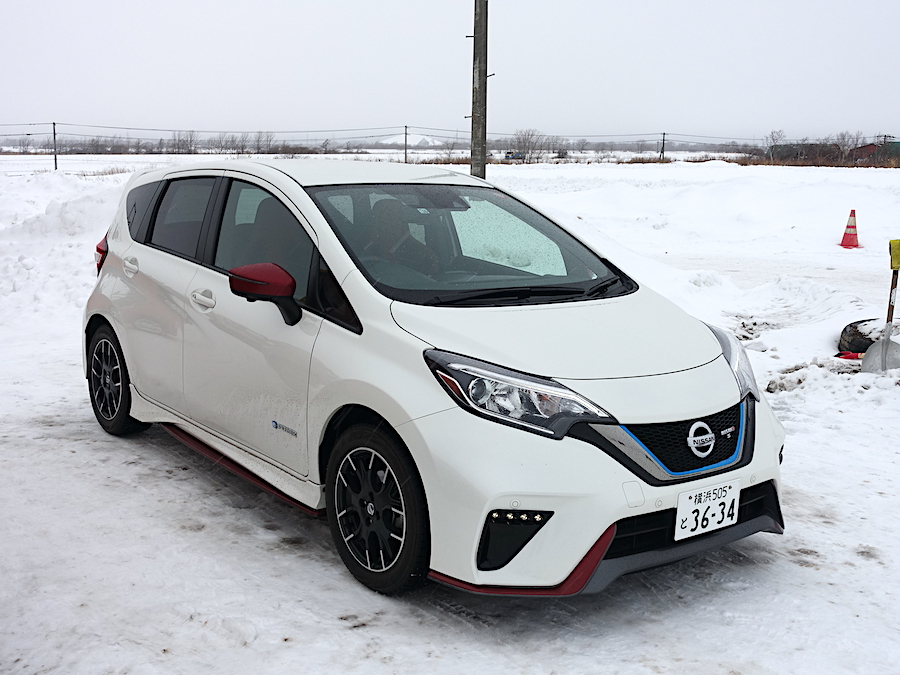 日産雪上試乗会へ参加しEV車の雪上安定性を再確認