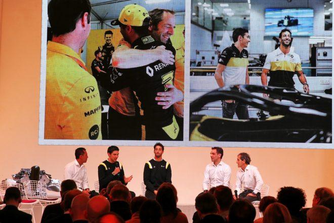 ルノーF1首脳「2020年の目標はランキング4位奪還」F1への長期参戦の意向も示す