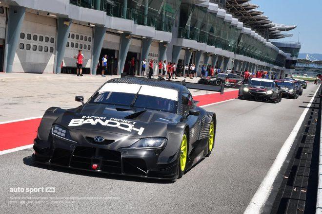 3月の鈴鹿『モースポフェス2020』で3メーカーの新GT500マシン6台がデモランへ