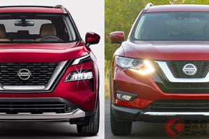 日産新型「エクストレイル」はどう進化!? 兄弟車「ローグ」の新旧モデルを比較