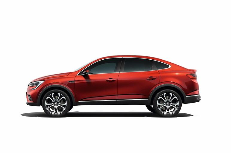 ルノー、SUVクーペの「アルカナ」を初公開。グローバル展開も視野に