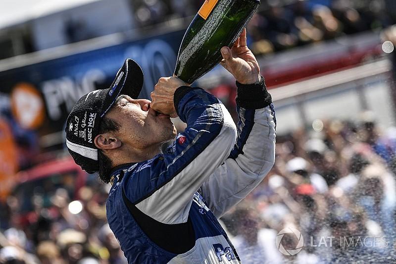 佐藤琢磨インディカー3勝目「戦略も、マシンも完璧だった!」 インディカー第16戦ポートランド